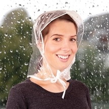 Pocket Rain Bonnets