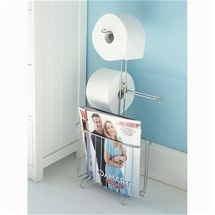 Tissue Holder and Magazine Rack