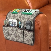 Quilted Armrest Cover & Organiser