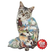 1000Pc Cat Design Puzzle