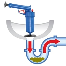 One Touch Drain Blaster