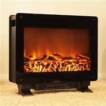 Electric Log Fire Heater