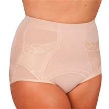 Floral Girdle Brief M