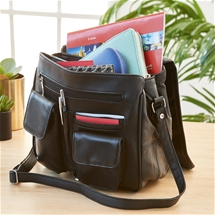 Lambskin Leather Organiser Bag