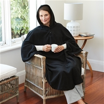 Self-warm Hooded Cape