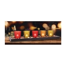 44Cm 5 Votive Candle Set